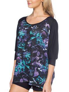 Midnight Hummingbird Big Top (US $60USD) by Black Milk Clothing