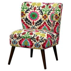Charmant Lauren Curved Back Slipper Chair : Target