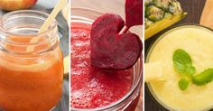 Seja para treinar, estudar ou acordar, sucos que dão energia são ótimos para obter mais disposição e reforçar a saúde. Essas bebidas conferem vitalidade pois são ricas em fibras que deixam a digestão mais lenta, o que fornece vitalidade por longos períodos, além de nutrientes vitais para aumen Cantaloupe, Smoothie, Pudding, Fruit, Healthy, Desserts, Recipes, Food, Vix