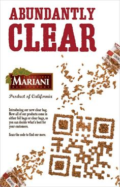 Completely nuts, almonds QR code