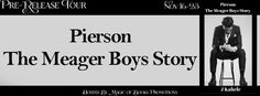 Tracey A Wood's - The Author's Blog - Blog spot: Pierson, The Meager Boys Story by J Kahele - Pre-R...