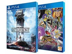 Star Wars: Battlefront + Os Cavaleiros do Zodíaco - Alma dos Soldados para PS4 Bandai Namco com as melhores condições você encontra no Magazine Edmilson07. Confira!