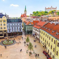 Bratislava, Slovakia What are the steps for opening a company in Slovakia? Prague, The Places Youll Go, Places To See, Bósnia E Herzegovina, Bratislava Slovakia, By Train, Central Europe, Travel Abroad, Adventure Is Out There