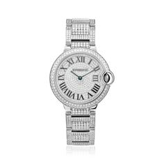 Cartier Ballon Bleu 16.5ct Diamond Watch - Shyne Jewelers