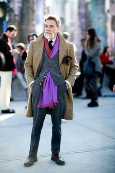 The Best Street Style at Pitti Uomo 2015