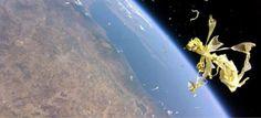 Η Ελλάδα στο... Διάστημα: Ένα μπαλόνι σκάει σε ύψος 33.923 μέτρων με θέα τον 'Ολυμπο [ΕΙΚΟΝΕΣ]