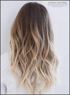 Die besten 25 Rot zu blond ombre Ideen auf Pinterest | Rot-Blond ... | Einfache Frisuren