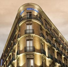 The Traditional Architecture of Hotel Madrid. Check out more http://www.preciadoshotel.com/