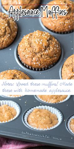 Muffin Recipes, Apple Recipes, Baking Recipes, Breakfast Recipes, Brunch Recipes, Fall Recipes, Pavlova, Easy No Bake Desserts, Delicious Desserts