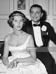 Princesse Dorothée de Hesse-Cassel (°1934) et le prince Friedrich Karl Hugo de Windisch-Grätz, mariés le 1er avril 1959