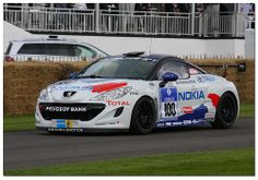 2012 Peugeot RCZ Racing Cup. Goodwood Festival of Speed 2012