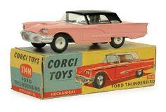 Corgi 214M Ford Thunderbird with Friction Motor