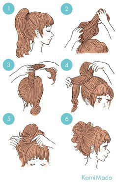 10 coques fáceis de fazer durante o verão – Passaneura 10 easy bun to make your hair during the summer. Cute Simple Hairstyles, Summer Hairstyles, Pretty Hairstyles, Cute Hairstyles, Braided Hairstyles, Hairstyle Ideas, Two Buns Hairstyle, Kawaii Hairstyles, Hair Tutorials