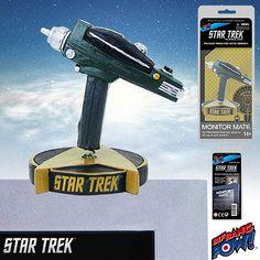 BLOG DOS BRINQUEDOS: Star Trek The Original Series Phaser Monitor Mate ...