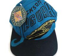 577714287f9 Vintage LOGO grande Jacksonville jaguares snapback sombrero material nuevo  con etiquetas el juego Sombreros