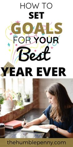 Learn how to set goals for your best year ever! This approach has helped us set and achieve Big SMART Goals year after year without fail. Get started today! Short Term Goals, Self Motivation, Setting Goals, Management Tips, Life Goals, Personal Finance, Personal Development, Saving Money, Budgeting