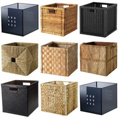 The IKEA Kallax line Storage furniture is an important element of any home. Stylish and wonderfully easy the shelf Kallax from Ikea , for example. Ikea Basket, Kallax Shelving Unit, Home Office Decor, Kallax Ikea, Ikea Storage Boxes, Shelving Unit, Ikea Cubes, Decorating On A Budget, Ikea Boxes