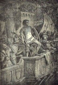 Cnut the Great - Cnut the Great, also known as Canute, was born to Sweyn… Viking Warrior, Viking Age, Anglo Saxon History, Adele, Norse Words, Scandinavian Countries, World Literature, Historical Images