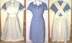 Vintage Nurse Uniform with ApronI This is the uniform I wore in nursing school.