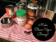 Easy Kitchen Clean Up!