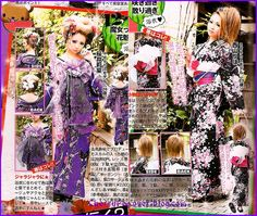 ♥ Japanese Cotton, Ethnic Dress, Gyaru, Yukata, Ethnic Fashion, Summer Wear, Zine, Kimono Top, Lifestyle