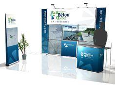 Stand d'exposition Association Béton