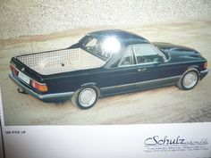 Mercedes Benz 560SEL W126 Pickup