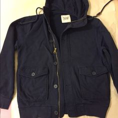Men's Old navy navy hoodie Old navy hoodie for men, size medium, barely used. Old Navy Jackets & Coats