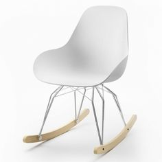 rocking chair diamond dimple closed kubikoff blanc