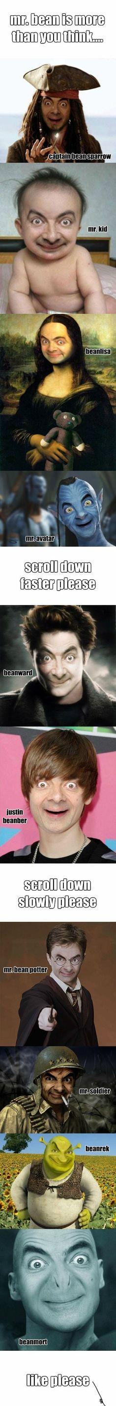 Mr. Bean...