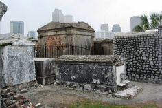 Thriller Thursday - Cemeteries of the Past. Saint Louis Cemeteries, New Orleans.