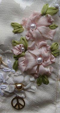 Fita de seda Flores