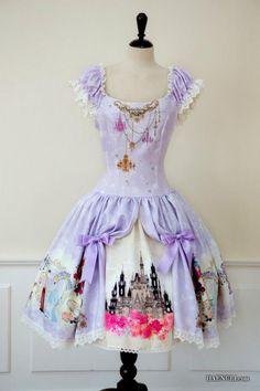 Haenuli's Dreaming Cinderella in Lavender - now available on reserve. I am CRAZY about this print! Gorgeous, gorgeous, gorgeous.