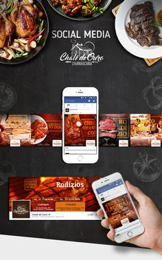 Social Media | Chalé de Ouro on Behance