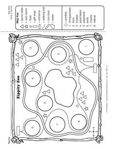 Map Worksheets For Kindergarten Worksheets for all | Download and .