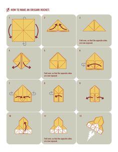 origami rockets