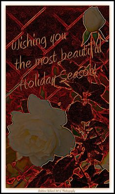 Beautiful Holiday Wishes by Bobbee Rickard of Fine Art America, Indie Reno. . . greeting cards, prints and more; click on image to visit website and galleries of over 500 images....so many choices and themes. shipped directly.
