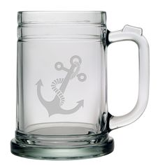 Anchor Tankard Mug