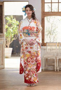 NO.1711 正絹 京友禅|成人式の振袖販売、振袖レンタルの京都きもの友禅