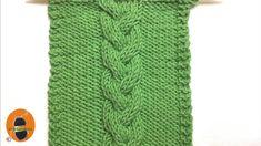 Kössünk! Minta 7 - A hajfonat minta Knit Patterns, Crochet Projects, Knit Crochet, Make It Yourself, Stitch, Knitting, Jumper, Sweater, Youtube