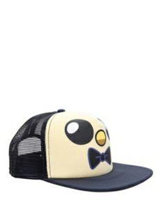 Adventure Time Gunter Trucker Hat Adventure Time Hat bd0b6e23ca77