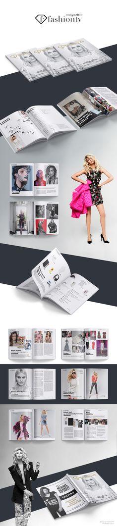 "Popatrz na ten projekt w @Behance: ""FashionTV Magazine design"" https://www.behance.net/gallery/50061897/FashionTV-Magazine-design"