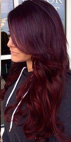 Burgundy Hair Style Trends 4