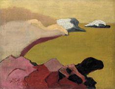 Milton Avery | Rocks and Sea