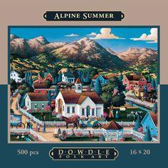 Alpine Summer 500pc 16x20 Jigsaw Puzzle by Eric Dowdle Dowdle Folk Art http://www.amazon.com/dp/B004V08II6/ref=cm_sw_r_pi_dp_z.P8tb1WTRQHT