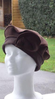 484834a7eb866 Bonnet chapeau béret  pour femme  confortable unique collection automne  hiver en polaire