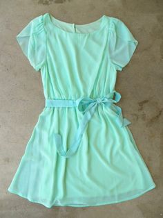 Sweet Mint Tulip Dress Vintage Inspired Clothing & Affordable Fall Frocks, deloom | Modern. Vintage. Crafted.