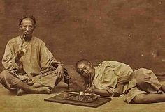 """manchu /* marijuana had of course been known to the Chinese for millennia. & even in their crazy """"medical"""" system of hot & cold etc. crap, they couldn't help but observe that marijuana (even w/out added poisoning) led to fraggleization/""""loosening of the faculties"""" (as if their faculties weren't demonstrated as loosened a lot already by their whole crazy system) */"""