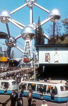 Protestant church at Expo 58 Brussels