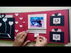 Birthday scrapbook greeting card fr your special frnd. Cool Birthday Cards, Birthday Cards For Boyfriend, Bday Cards, Birthday Crafts, Anniversary Scrapbook, Birthday Scrapbook, Anniversary Cards, Handmade Scrapbook, Scrapbook Cards
